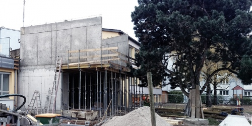 2019.11 KRS KINDERGARTEN REICHENAU SÜD under construction_